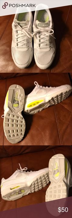 Nike Air Max Shoes Nike Air Max women's shoes - Size 11 - excellent condition- worn once. Nike Shoes Athletic Shoes