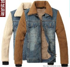 Look boyish but I like it! Revamp Clothes, Sewing Clothes, Recycle Jeans, Altering Clothes, Denim Outfit, Printed Sweatshirts, Denim Fashion, Jeans Style, Couture