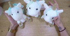 Fabriquez les plus adorables bébés licornes avec un tutoriel gratuit et en français!