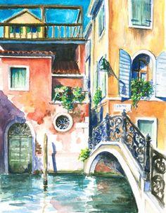 Beautiful Watercolour Painting from $34.99   www.wallartprints.com.au #WatercolourPainting