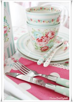Sommerhusliv all year ...: Gl Cutlery box .. greengate <3