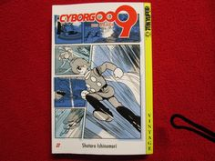 Cyborg 009 Volume #2 Tokyopop Vintage Manga Anime naruto comic book books