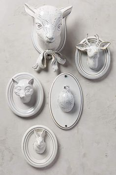 Pleasant Pasture Wall Bust - anthropologie.com