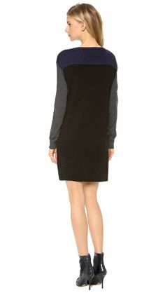 Milly Colorblock Knit Dress