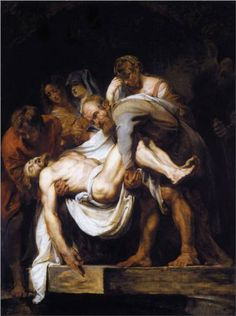 The Entombment - Peter Paul Rubens