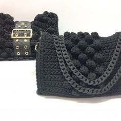 Chic & Unique by V&R Office Logo, Popcorn Stitch, Light Beige, Chanel Boy Bag, Purses And Bags, Shoulder Bag, Crochet Bags, Photo And Video, Knitting