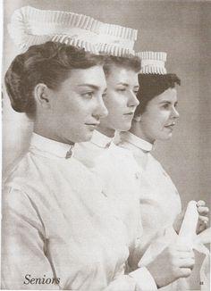 Beautiful photo of three PGH School of Nursing grauates.