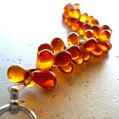 Amber, my favourite. The only thing that comes even close is opals.