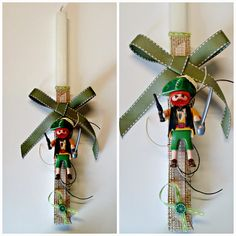 Mamma-G-creations..: Πασχαλινές Λαμπάδες 2015 - Easter Candles 2015