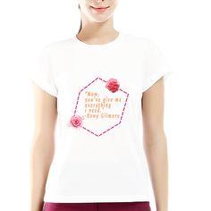 Women T shirt cotton soft different size mother