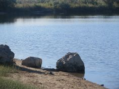 Another view of the pond near the eastside off-leash dog park, Casper, Wyoming