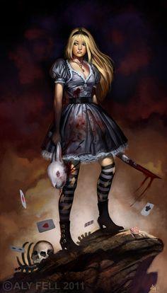 Alice, mi conejo blanco :(