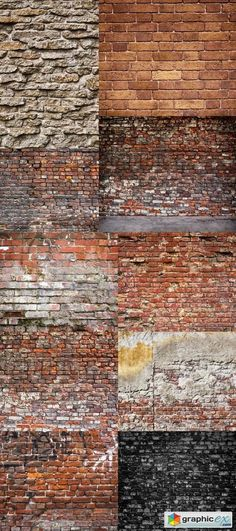 Old Brick Wall  Background Texture  stock images