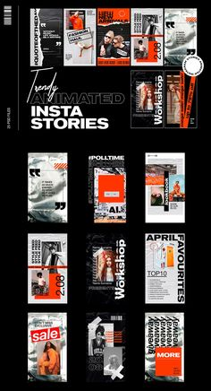 Impress your Instagram followers with new stylish trendy animated stories! Plastic textures, stickers, and animated elements will make them more dynamic and eye-catching! Perfect for promoting your products, services or your own blog. #streetwear #instagramstreetwear #streetwearmarketing #marketingpromotion #instastories #instagramstories #instagramstoriespromotion Web Design, Website Design Layout, Graphic Design Tips, Graphic Design Posters, Page Design, Graphic Design Inspiration, Flyer Design, Layout Design, Instagram Design