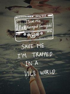 Save Me - Avenged Sevenfold My Valentine Lyrics, Bullet For My Valentine, Happy Quotes, Life Quotes, Funny Quotes, Badass Quotes, Band Quotes, Lyric Quotes, Cool Lyrics
