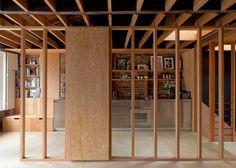 Un entramado de madera que evoca el pasado|Espacios en madera