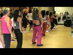 LMFAO- Love this routine. Love this woman's class. I want to be there!