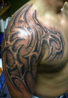 Stone Tribal Tattoo