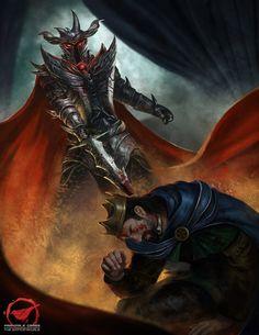 Crush the King by jackfrozz on DeviantArt