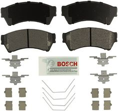 Disc Brake Pad Set-Blue Brake Pads with Hardware Front Bosch BE1375H
