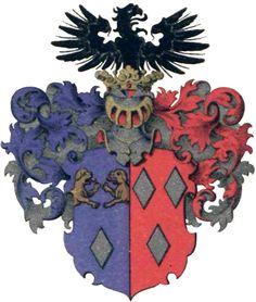 Familienwappen Berens von Rautenfeld   Coat of Arms of The Family Berens von Rautenfeld