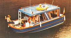 Building a Trailerable Houseboat - with simple plans for a quick