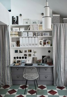 storage | office shelving nook