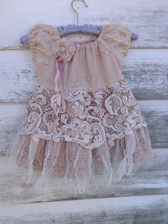 Custom order..Any size from 12 Month to 5T...Vintage inspire Lace dress ,Perfect FLOWER GIRL,birthday party,great keepsake.