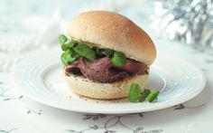 Beef and Stilton Roll with Watercress