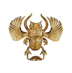 Divine scarab beetle candle holder in brass. The candle holder works with any dinner candle to give your home that real edge. A sacred good luck Mug Deserts, Good Luck Symbols, Egyptian Scarab, Large Candle Holders, Christmas Embroidery Patterns, Ancient Mysteries, Ancient Civilizations, Ancient Egypt, Lion Sculpture