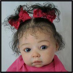 Reborn Robyn AMAZINGLY LIFELIKE OOAK Toddler Baby Doll Adrie Stoete Robin Sculpt
