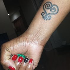 Image result for black woman sankofa tattoo