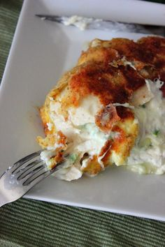 Jalapeno Popper Stuffed Chicken Breast... sound delicious, but definitely will need some time to make these