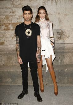 Me and my girl: Zayn and Gigi have been dating for more than a year
