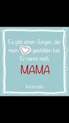 Mama Sohn Liebe