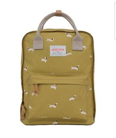 fc562855fa6b Add a colour pop to your bag collection with our diverse Sausage Dog  Backpack featuring additional canvas carry handles. This cute backpack will  happily ...