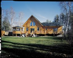 MacKenzie by True North Log Homes