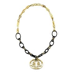 QueCraft Horn Chain Necklace - Q4207