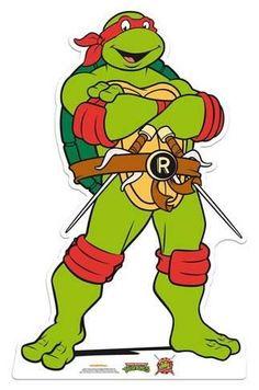 Raphael - Teenage Mutant Ninja Turtles Kartonnen poppen bij AllPosters.nl