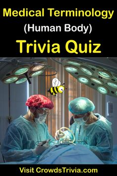If you are sure of your root words and terminologies that describe the human body, its conditions, components, and procedures performed on it such as is used in the medical field, then here's your chance.   #trivia #funfacts #generalknowledge #quiz #getsmarter #crowdstrivia #wisdomofthecrowd  #trivianight #funfactsoftheday #quizz #quizzes #gkquiz #triviaquestions #triviagame #triviaoftheday #wtffunfacts #funnyfacts #triviagames #humanbody #medical Funny Quiz Questions, Trivia Questions And Answers, Quizzes Games, Trivia Games, Wtf Fun Facts, Funny Facts, Trivia Of The Day, Brain Based Learning, How To Become Smarter