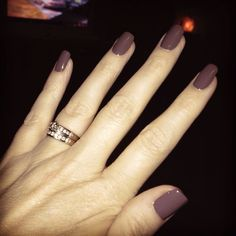Sally Hansen/Insta-Dri Slick Slate - Real Time - Diet, Exercise, Fitness, Finance You for Healthy articles ideas Get Nails, How To Do Nails, Hair And Nails, Matte Nails, Acrylic Nails, Nail Polish Colors, Fall Nail Colors, Sally Hansen Nails, Tips Belleza