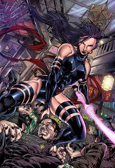 Pin by Roxy on Anime & Comics [Marvel & DC]   Psylocke