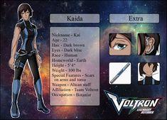[VLD] Kaida Ref by knightchick on DeviantArt Voltron Force, Dark Brown Eyes, Hawks, Thunder, Oc, Character Design, Animation, Cartoon