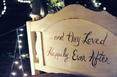 ...and they loved  Happily Ever After