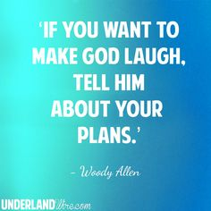 Woody Allen on Making God Laugh