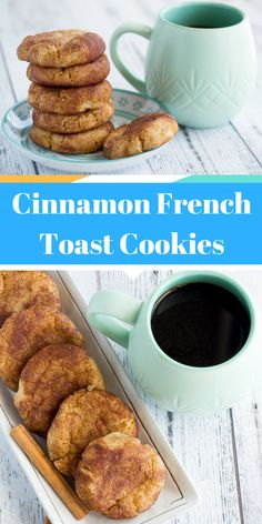 Keto Cinnamon French Toast Cookies These cinnamon french toast cookies are super delicious. Imagine french toast turned it into a cookie, that's exactly what you're looking at right now! Keto Desserts, Keto Snacks, Dessert Recipes, Breakfast Recipes, Mexican Breakfast, Breakfast Sandwiches, Breakfast Pizza, Diet Breakfast, Breakfast Bowls