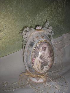 easter eggs decoupage Stella, Πασχαλινό αβγό ντεκουπαζ Στελλα,  PISANKI яйцо Stella
