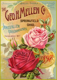 Antique advertising print