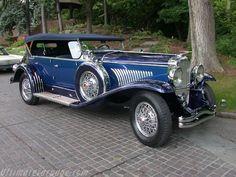 1929 Duesenberg Derham Dual Cowl Phaeton