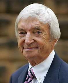 Richie Benaud. Former Australian cricketer and captain. Outstanding cricket commentator.....we missed you this summer Richie.....He is still recovering from a motor vehicle accident in October 2013.